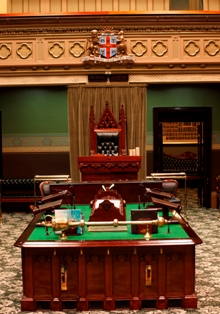 The Table in the Legislative Assembly