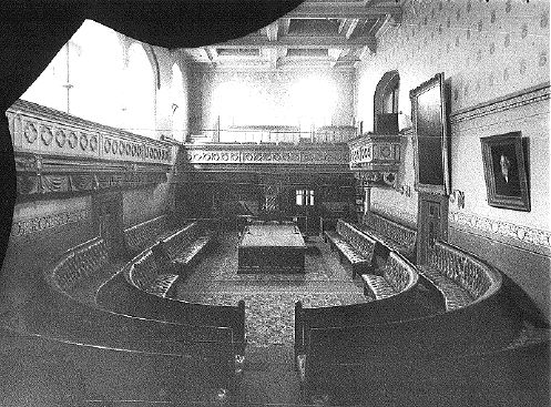 The Legislative Assembly Chamber in 1908
