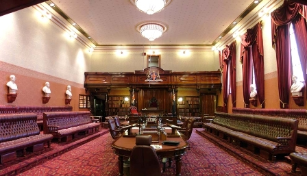The modern Chamber of the NSW Legislative Council