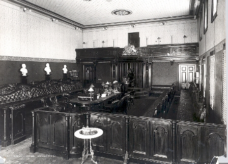 The Council Chamber in the 1890s